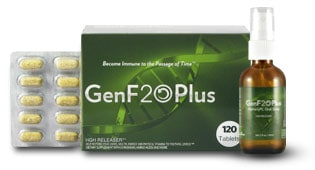 HGH Booster pills and spray - GenF20 Plus - Promotes natural HGH Production